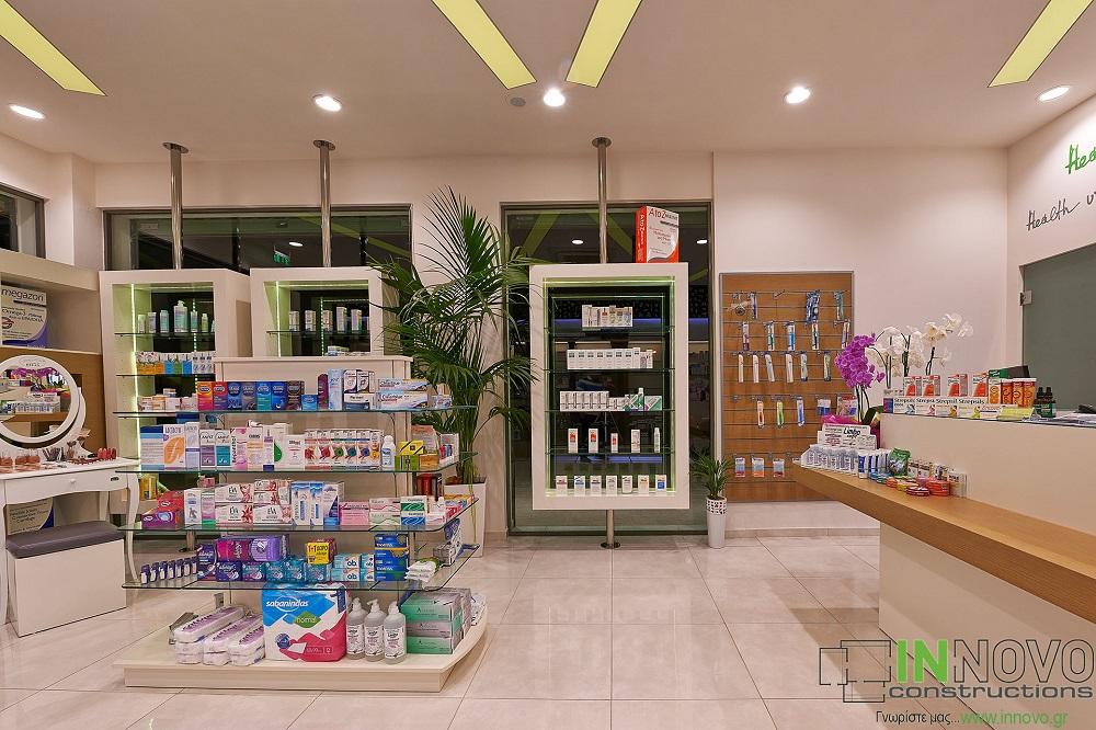 Ολική ανακαίνιση φαρμακείου στη Βούλα