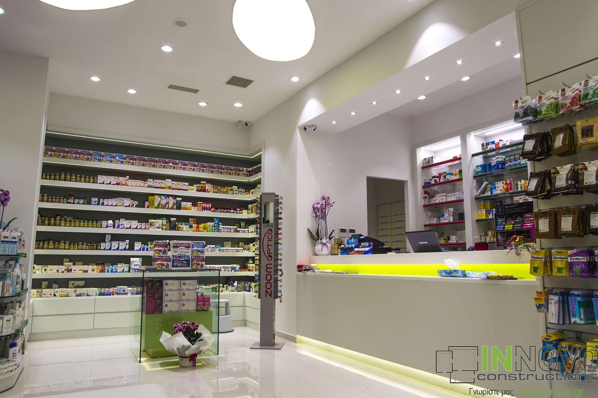 Κατασκευές φαρμακείων Νέα Ερυθραία