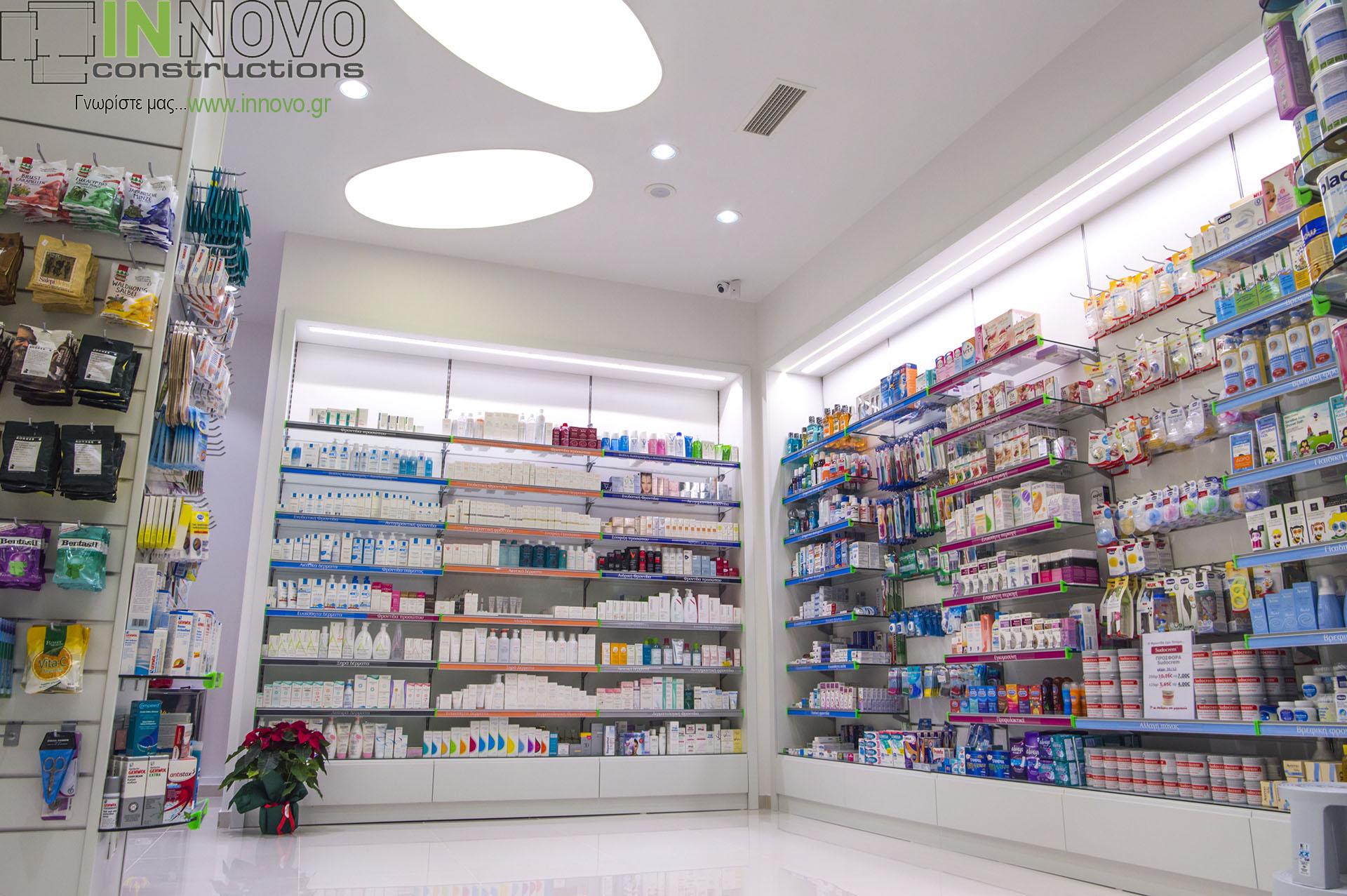 Φαρμακείου κατασκευές Νέα Ερυθραία