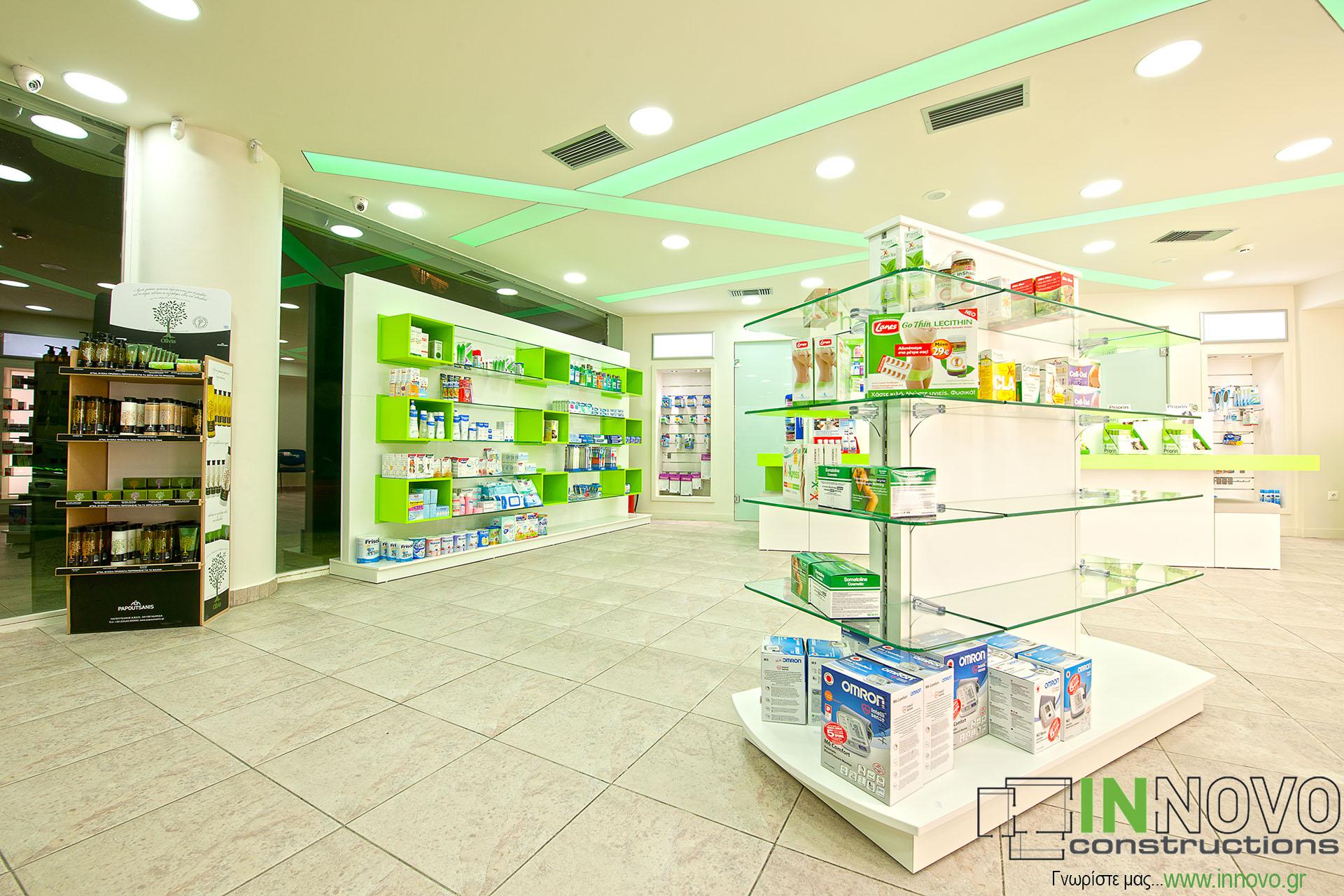 Ανακαινίσεις φαρμακείου Πέραμα