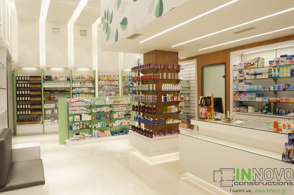 κατασκευή καινούριου φαρμακείου
