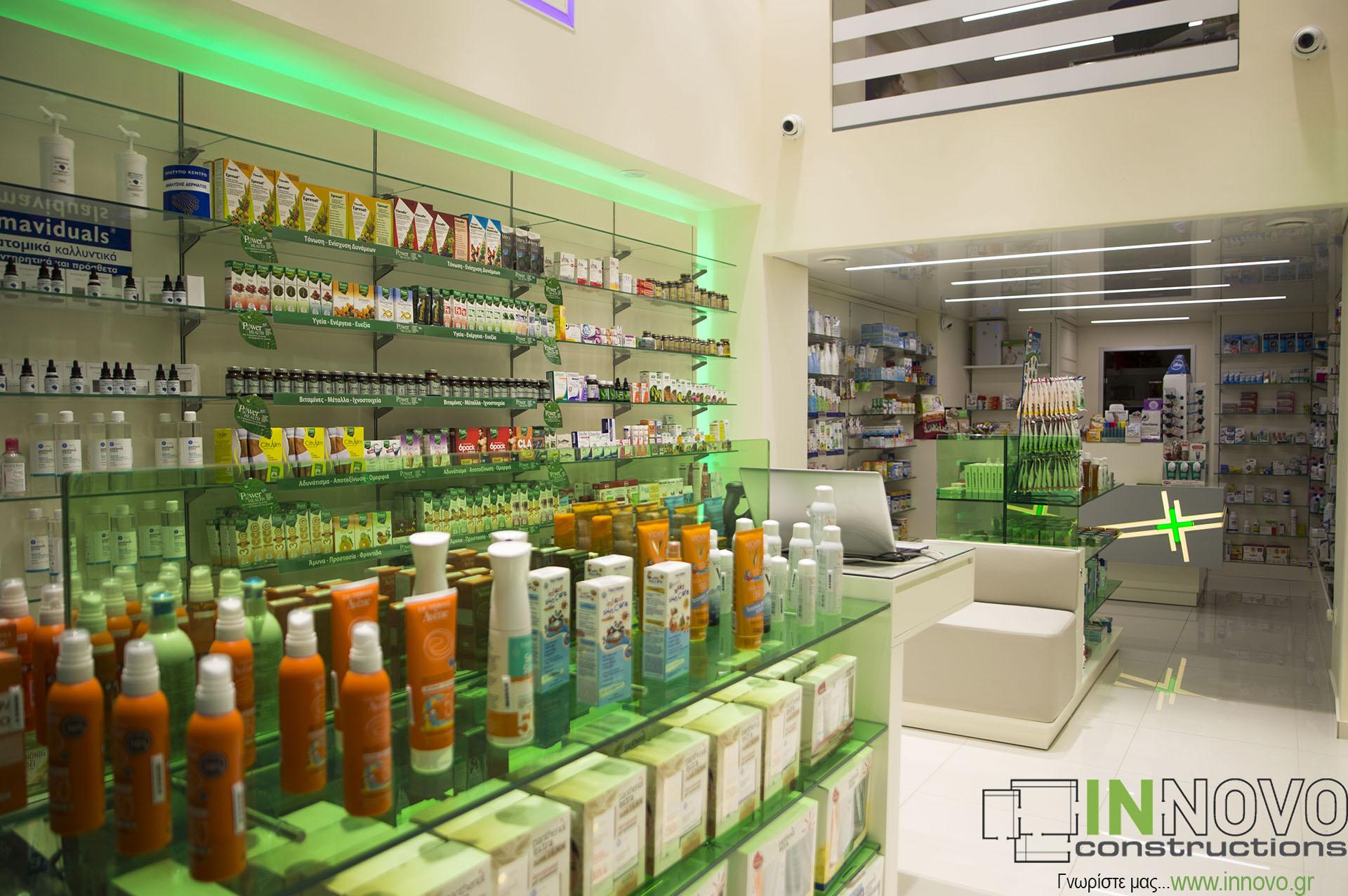Κατασκευές φαρμακείων Καλλιθέα