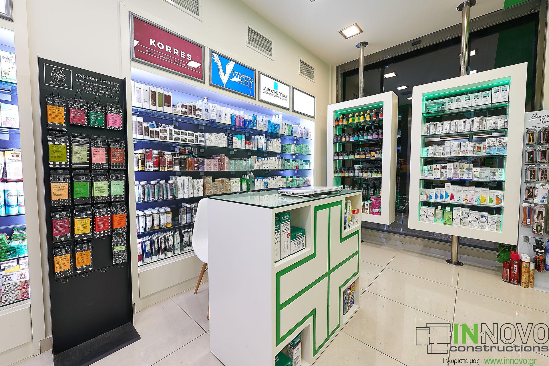 Κατασκευές φαρμακείων και στο Κολωνάκι