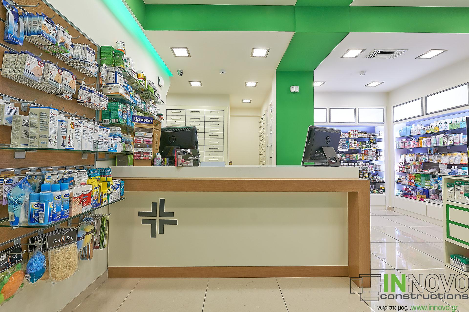 Κατασκευή νέου φαρμακείο περιοχή Κολωνάκι