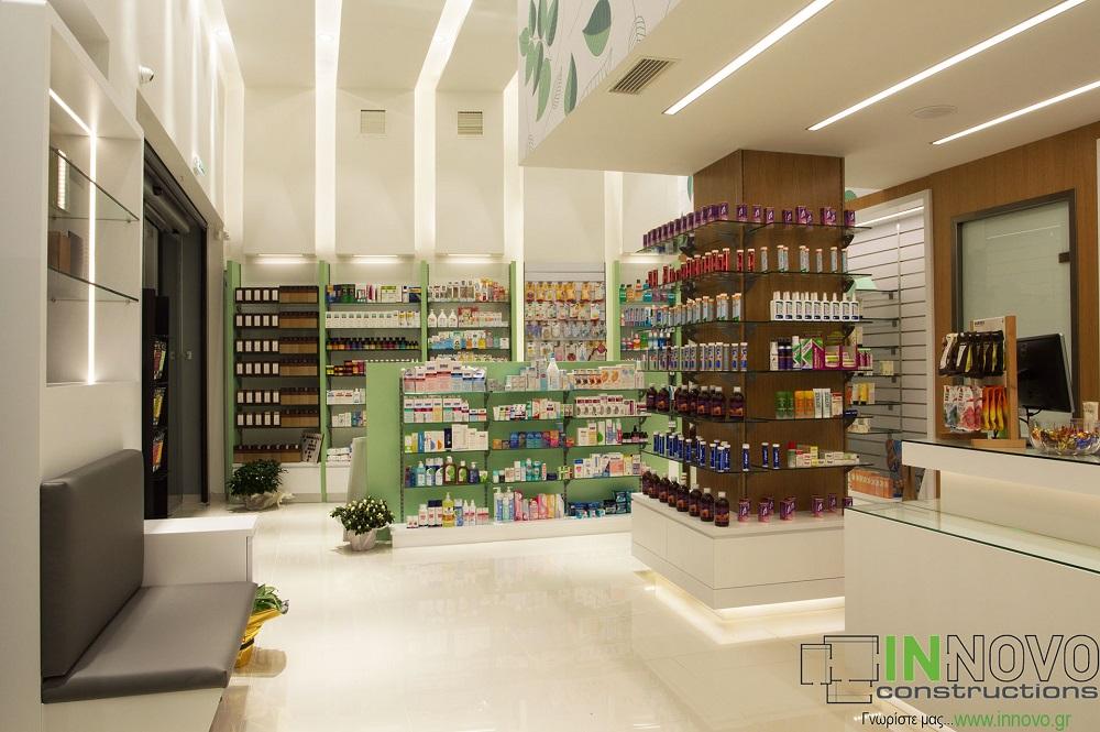 Κατασκευή νέου φαρμακείου Αργυρούπολη
