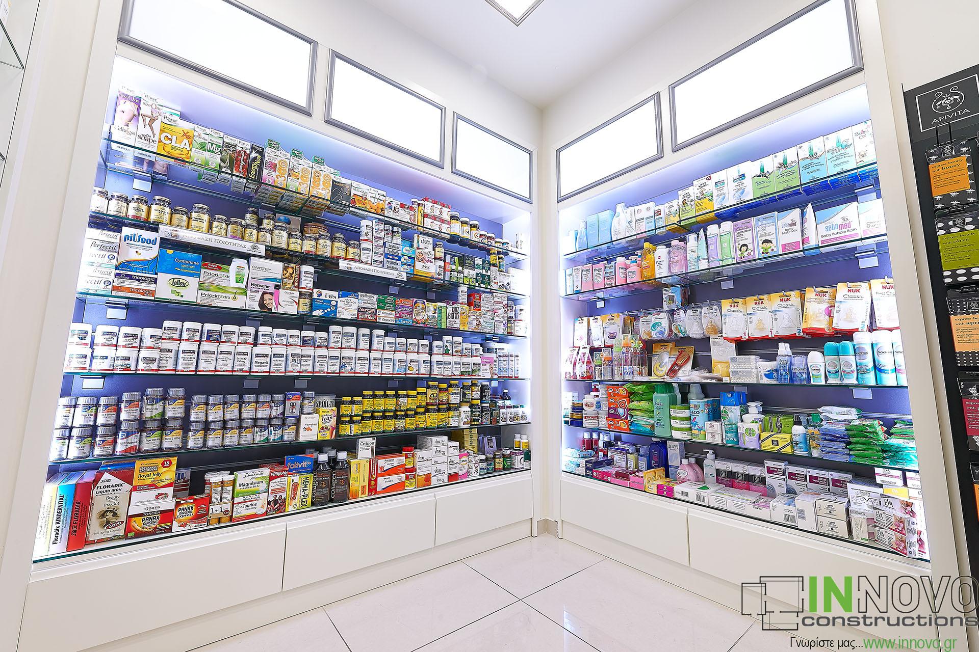 Κατασκευη φαρμακειου περιοχή Κολωνακι