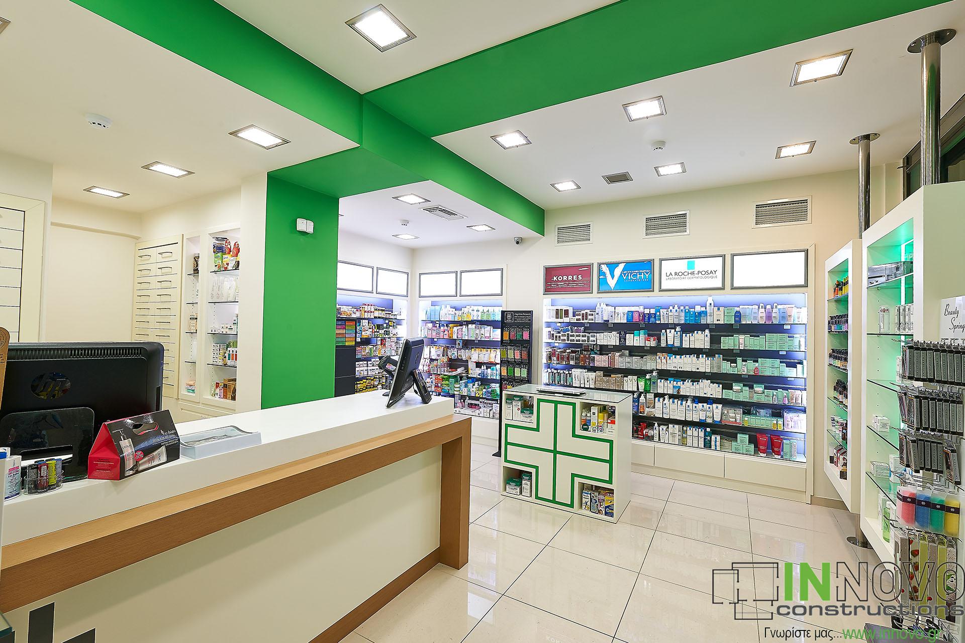 Φαρμακεία υπό κατασκευή περιοχή Κολωνάκι