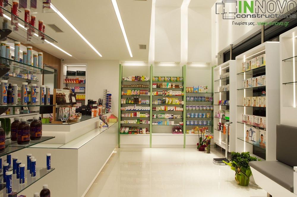 Φαρμακείου κατασκευή στην Αργυρούπολη