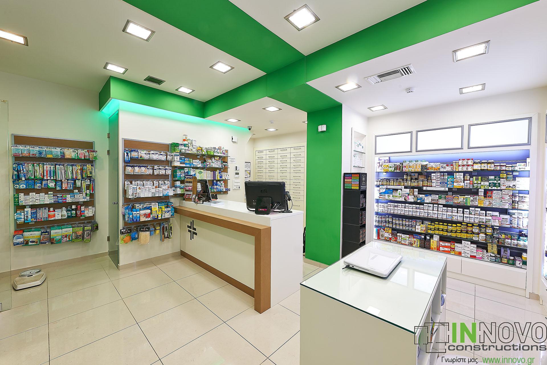 Φαρμακείων κατασκευές περιοχή Κολωνάκι