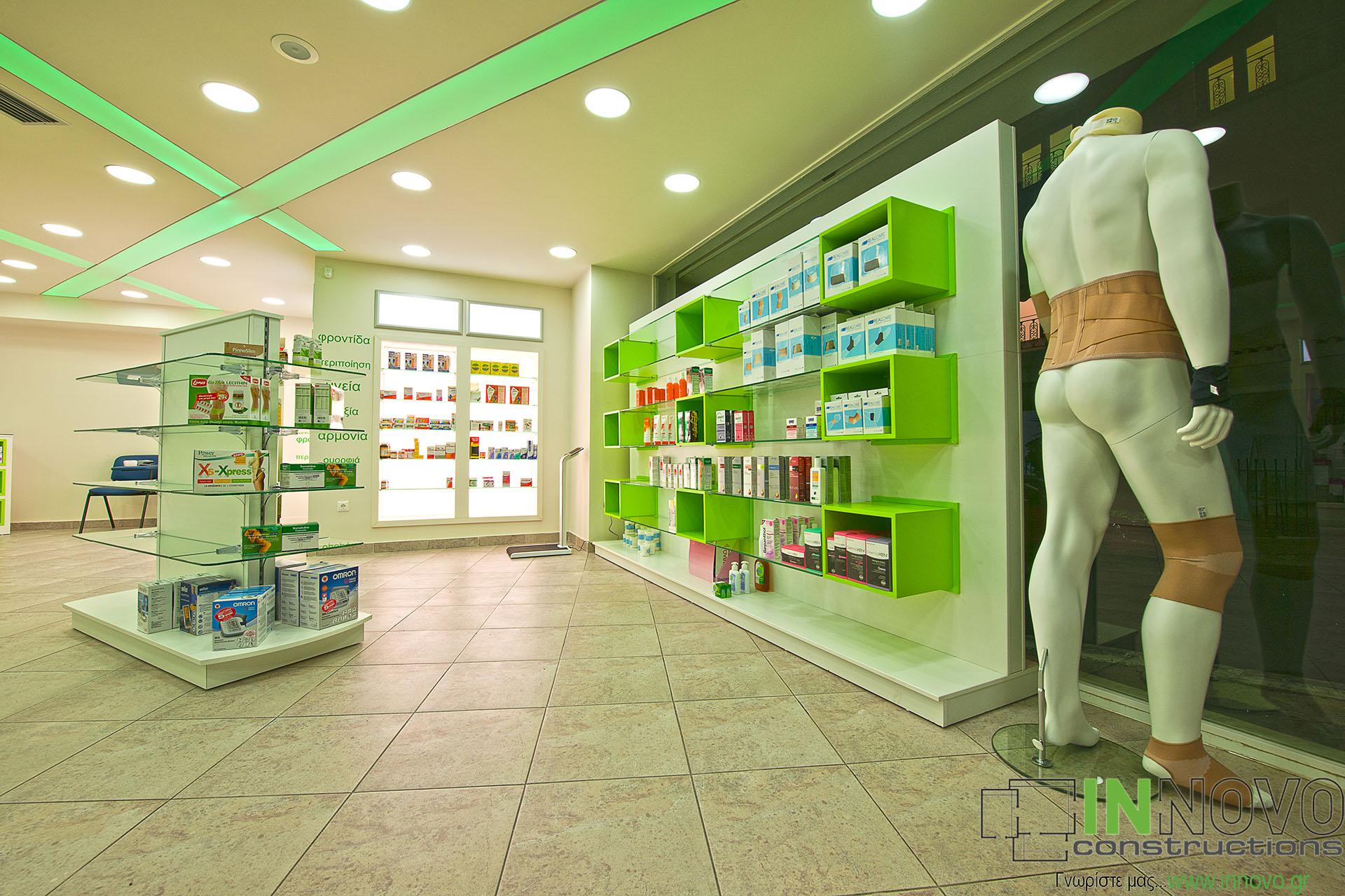 Μελέτες και ανακαινίσεις φαρμακείων