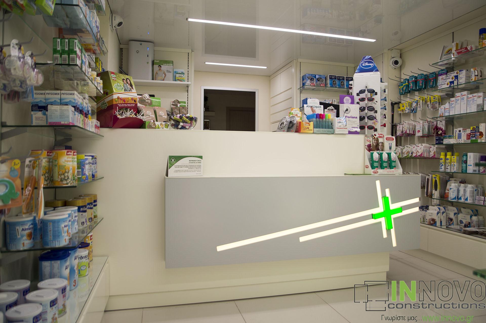 Ολικές κατασκευές φαρμακείων