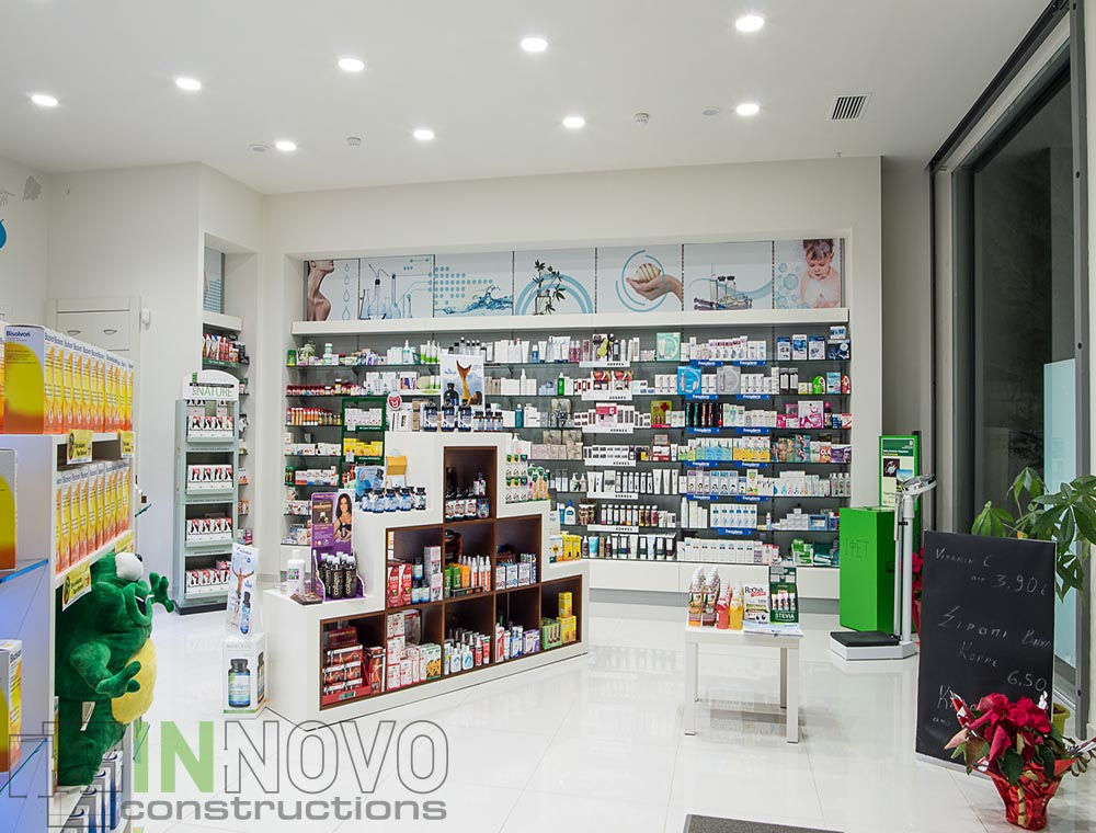 Ανακαίνιση φαρμακείου στο Κορωπί