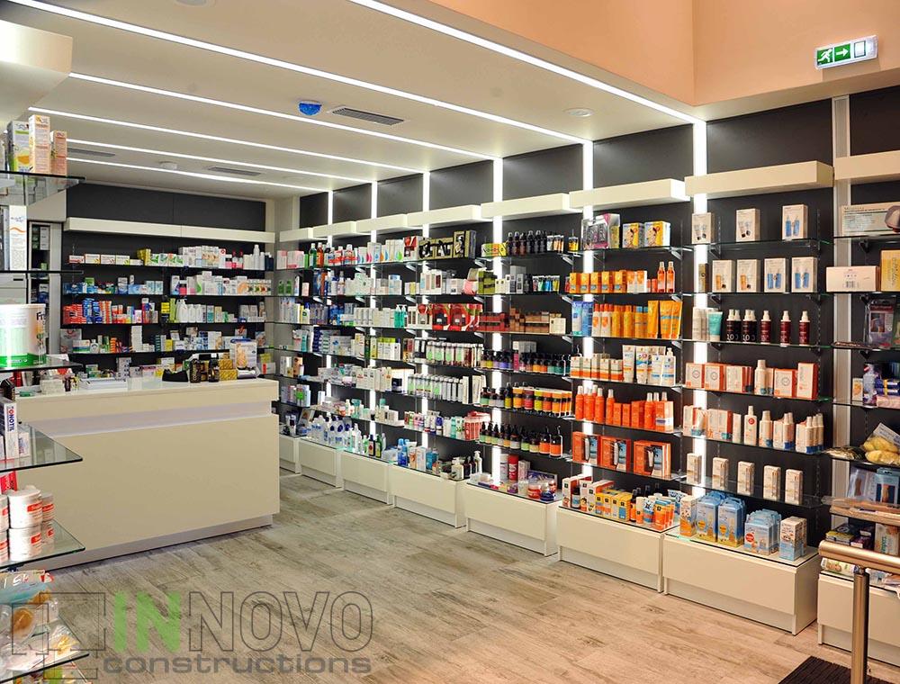 Κατασκευή φαρμακείου Μαβίλης