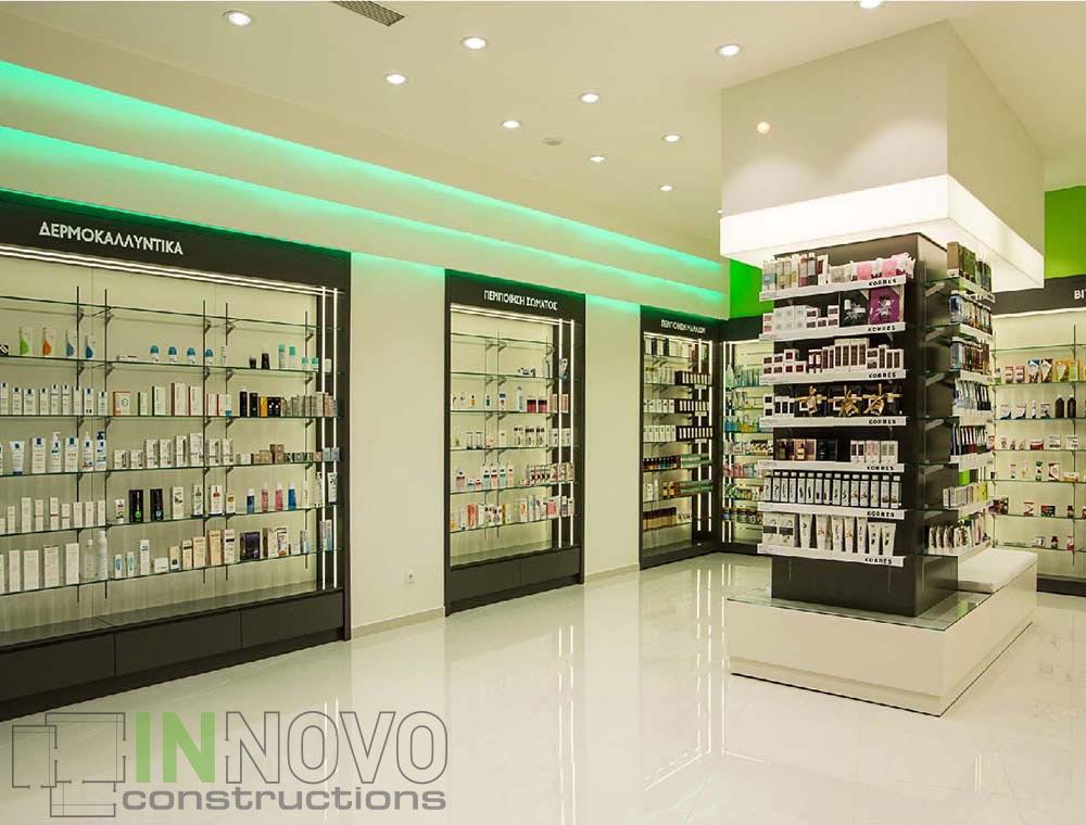 Άγος Δημήτριος, ανακαίνιση φαρμακείου