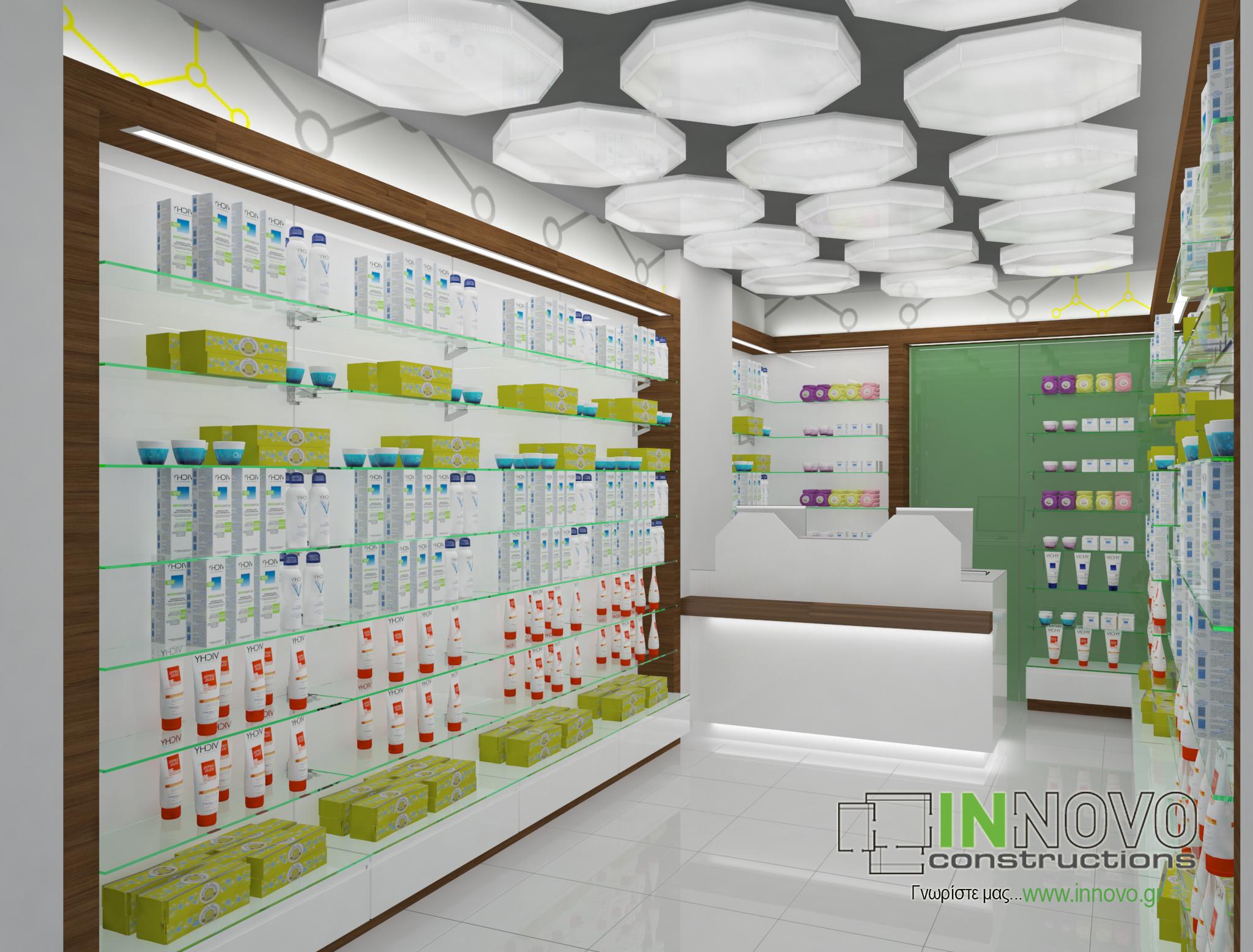 Μελέτες κατασκευών φαρμακείων Γλυφάδα