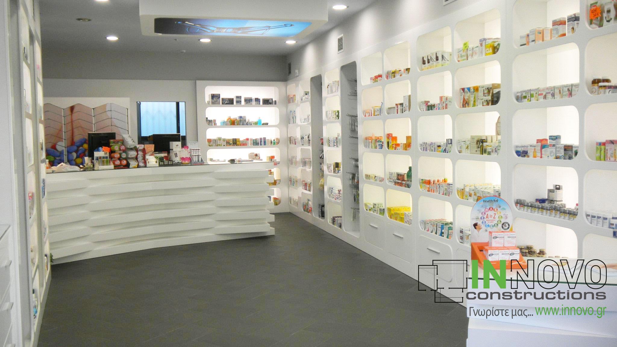 Ρέντη ανακαίνιση φαρμακείου