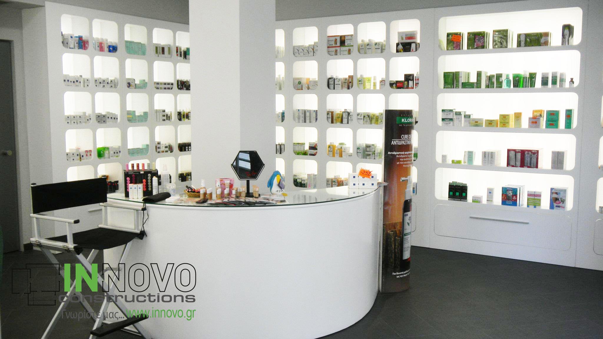 Ανακαινίσεις φαρμακείων Ρέντη